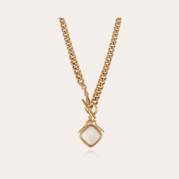 Siena necklace gold - Exclusive piece (2 pieces)