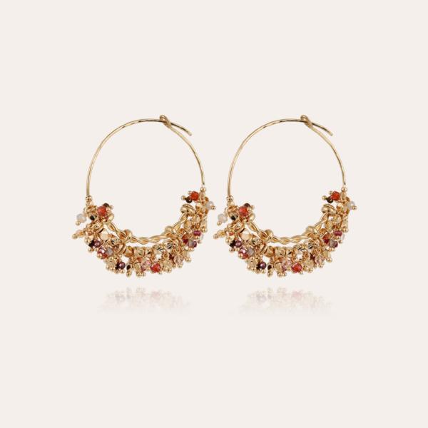 Grappia hoop earrings mini gold