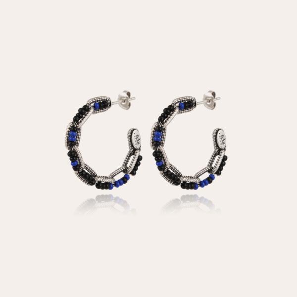 Mako hoop earrings silver