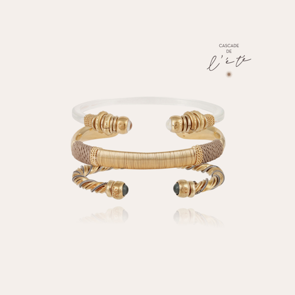 Summer bracelets - Sari, Macao & Torride gold