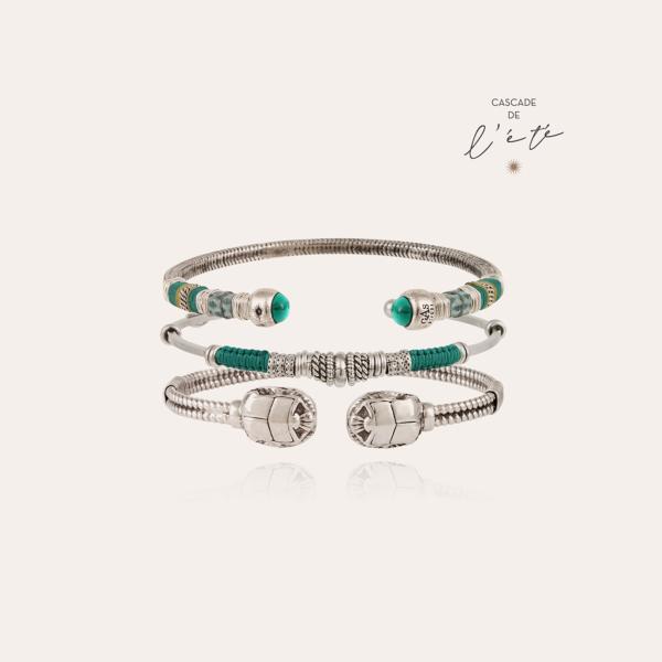 Summer bracelets - Sari, Zizanie & Scaramouche silver