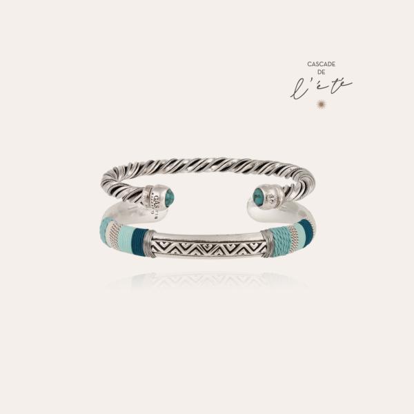 Summer bracelets - Massai & Torride silver