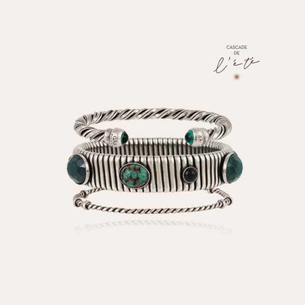 Summer bracelets - Torride, Strada & Torsade silver