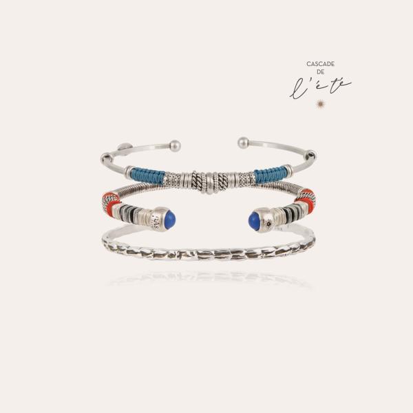 Summer bracelets - Zizanie, Sari & Liane silver