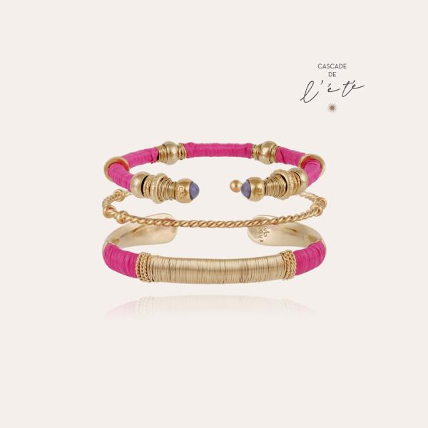 Summer bracelets - Macao, Sari & Torsade gold