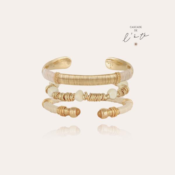 Summer bracelets - Macao, Biba & Sari gold