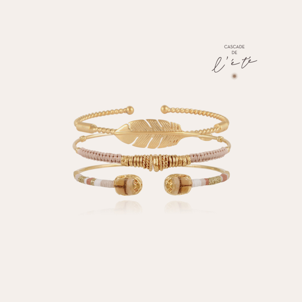 Summer bracelets - Scaramouche, Penna & Zizanie gold