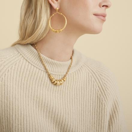 Maranzana earrings gold
