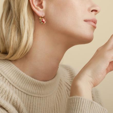 Décalco earrings mini gold