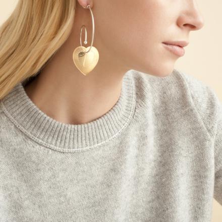 Celine Love earrings bicolor
