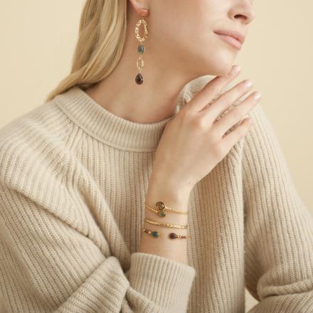 Honore earrings gold