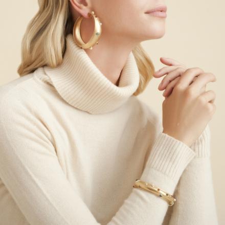 Leontia bracelet gold