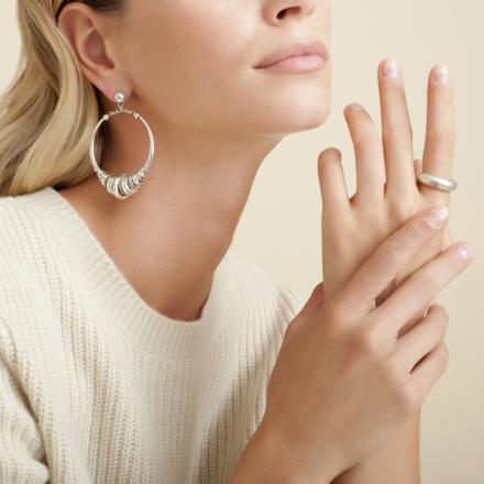 Maranzana earrings silver
