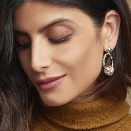 Maranzana earrings mini silver