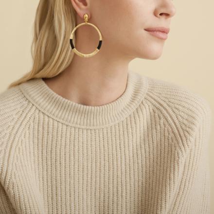 Mimi Macao earrings gold