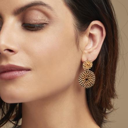 Onde Lucky earrings mini gold