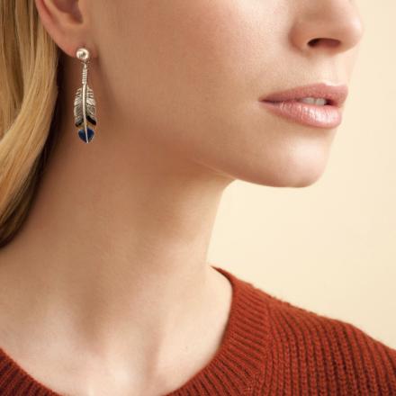 Penna earrings silver