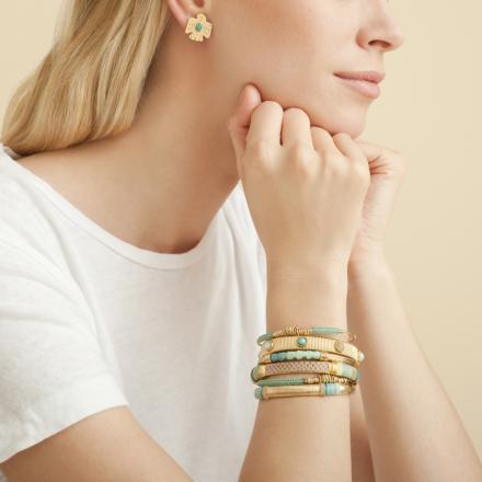 Eagle studs earrings gold