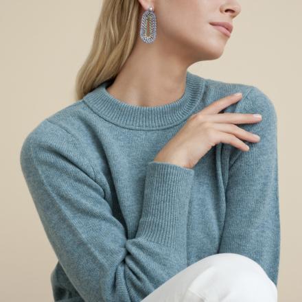 Trevise earrings silver