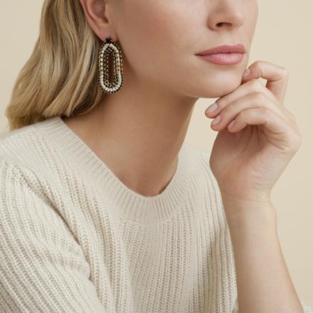 Trevise earrings gold