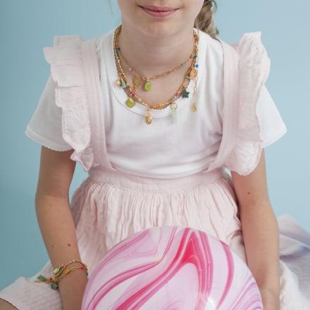 Alice kids necklace gold
