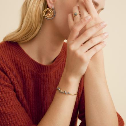 Calliope Serti bracelet gold