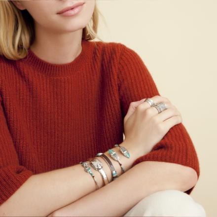 Duality Penna bracelet silver
