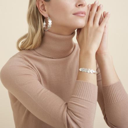 Insolite Love bracelet silver