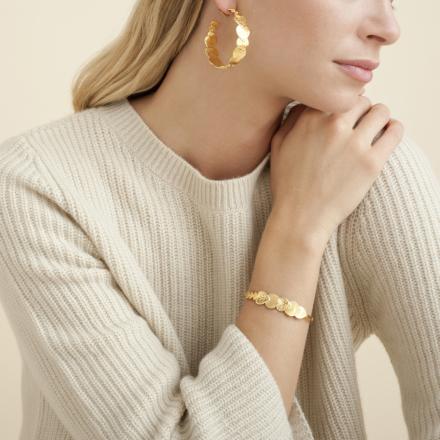 Insolite Love bracelet gold