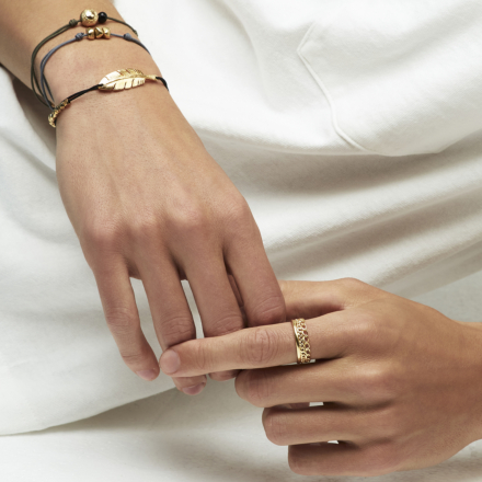 Penna men bracelet gold
