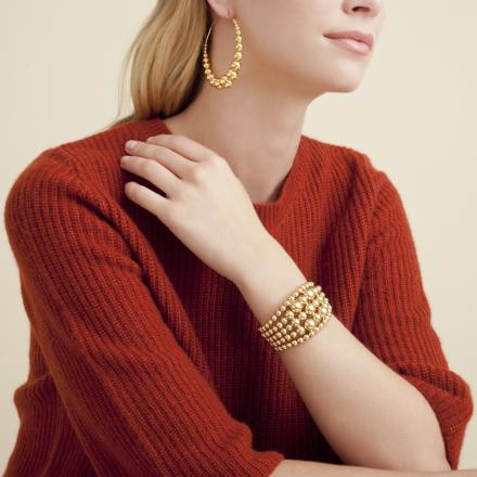 Multiperla bracelet gold