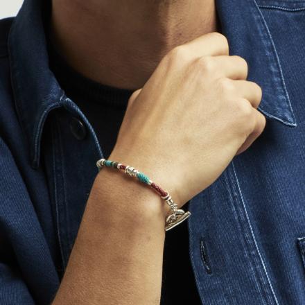 Marceau men bracelet silver