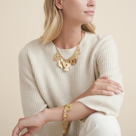 Santa Fe bracelet gold