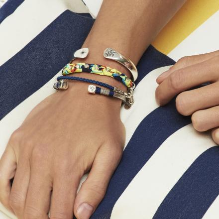 Sari Vilebrequin bracelet silver