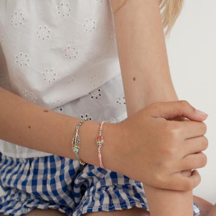Scaramouche kids bracelet silver