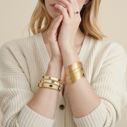 Strada bracelet small size gold
