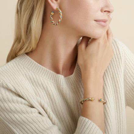 Torride bracelet large size gold