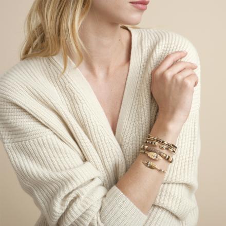 2 Zanzibar bracelets gold
