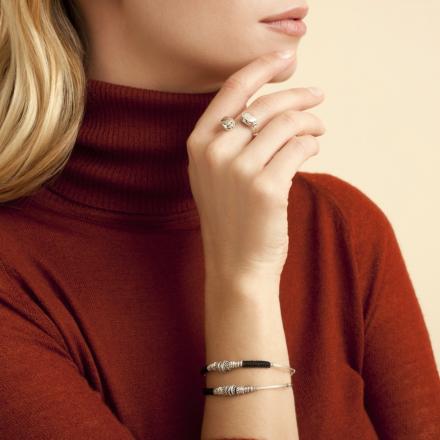 Zizanie bracelet silver
