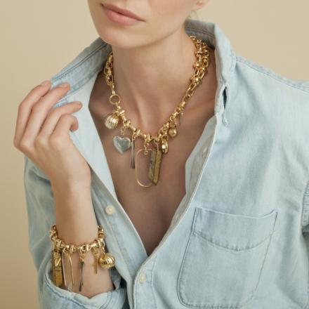 Lucky Charms bracelet gold