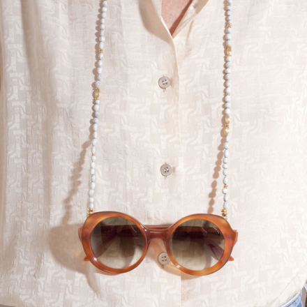 Vao necklace Glasses Chain gold