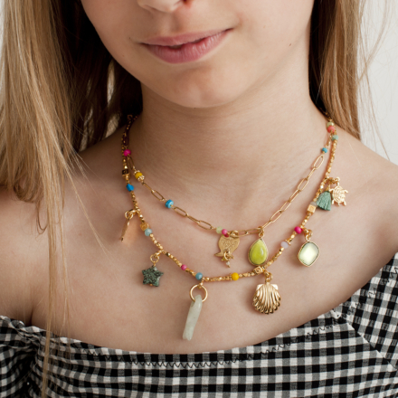 Clarence kids necklace gold