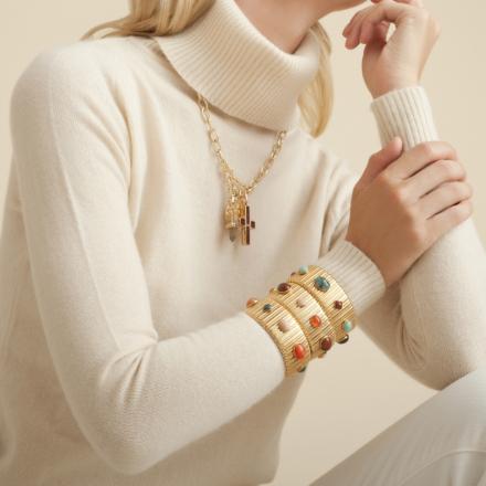 Constantine necklace gold - Exclusive piece (3 pieces)