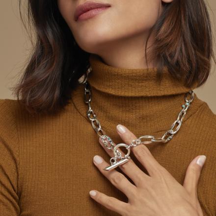 Gabriel necklace silver
