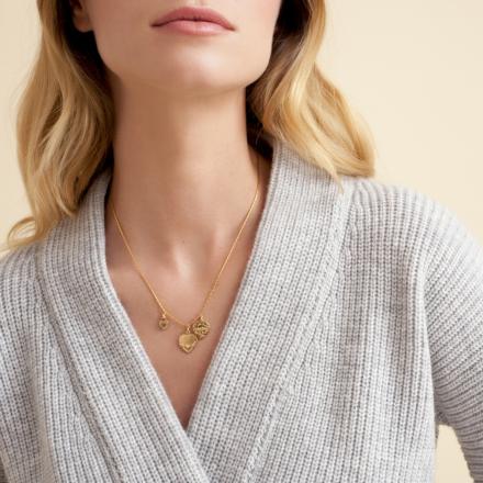 Love necklace mini gold