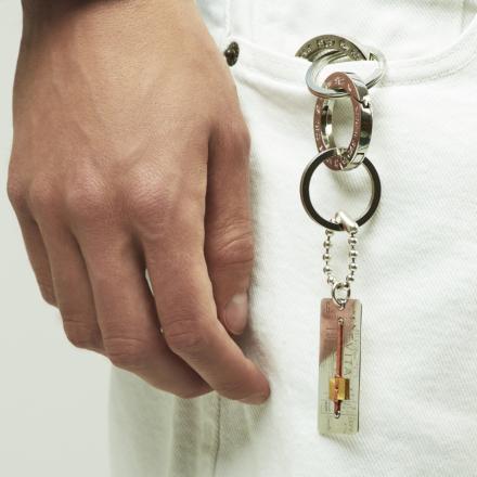 Evita key ring silver